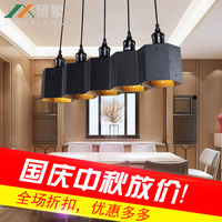 Simple Nordic Creative Chandeliers Wrought Iron Study Hotel Bar Table Lamp Restaurant Personalized Lamps And Lanterns