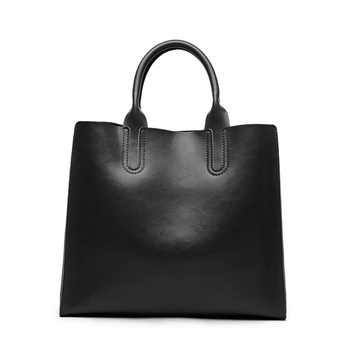 luxury women designer handbags high quality brand Cowhide Genuine Leather Handbags women messenger bags bolsa feminina - DISCOUNT ITEM  55 OFF Luggage & Bags