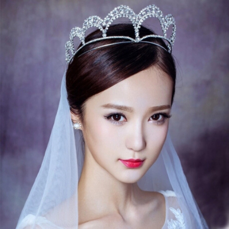 Wedding crowns bridal tiaras wedding accessories Wedding Bridal Hair Accessories, Girls Party Wedding Rhinestone Tiara Crown
