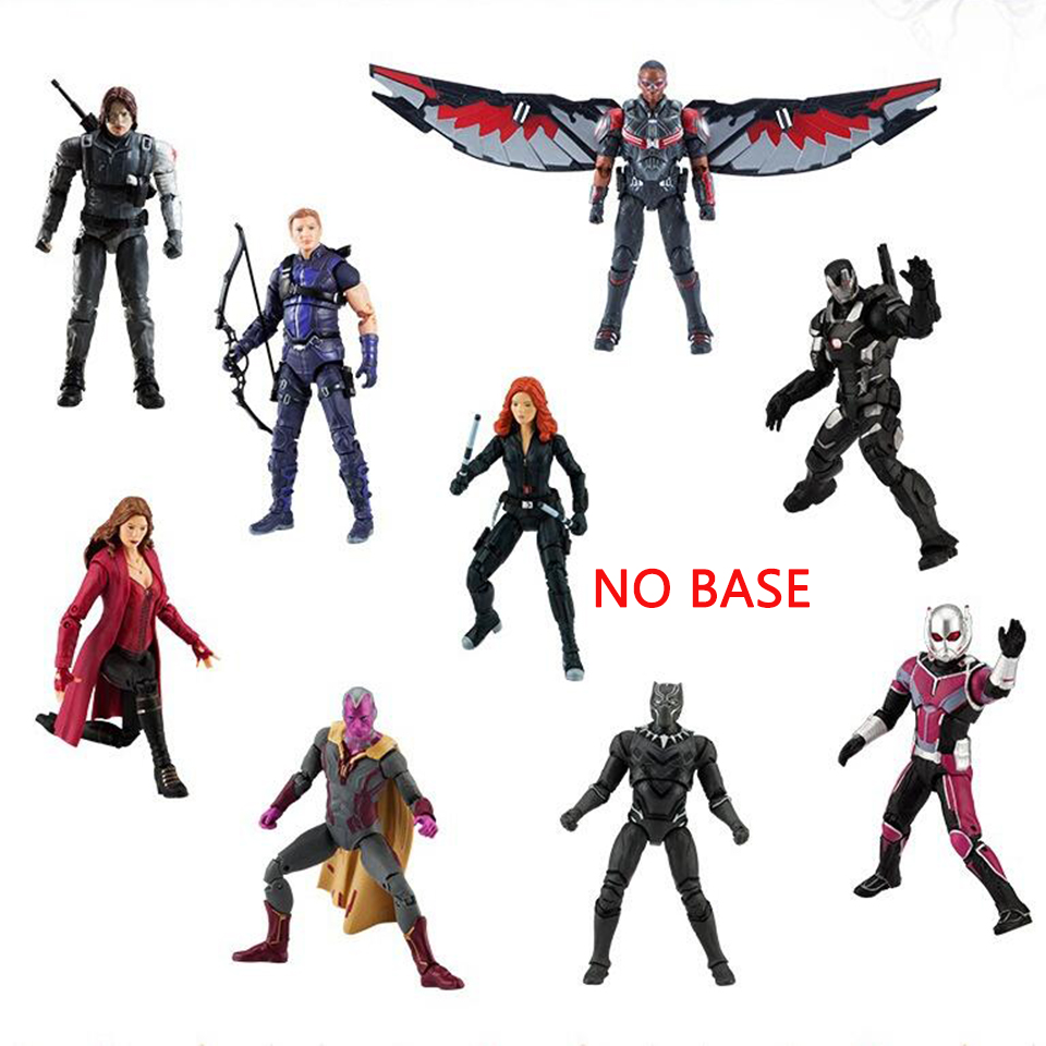Best buy 1pcs Captain America 3 war machine Civil War Avengers Iron Man  MARVEL Vision Scarlet Witch Black Widow Black Panther Hawkeye online cheap 19e5f15adcc3