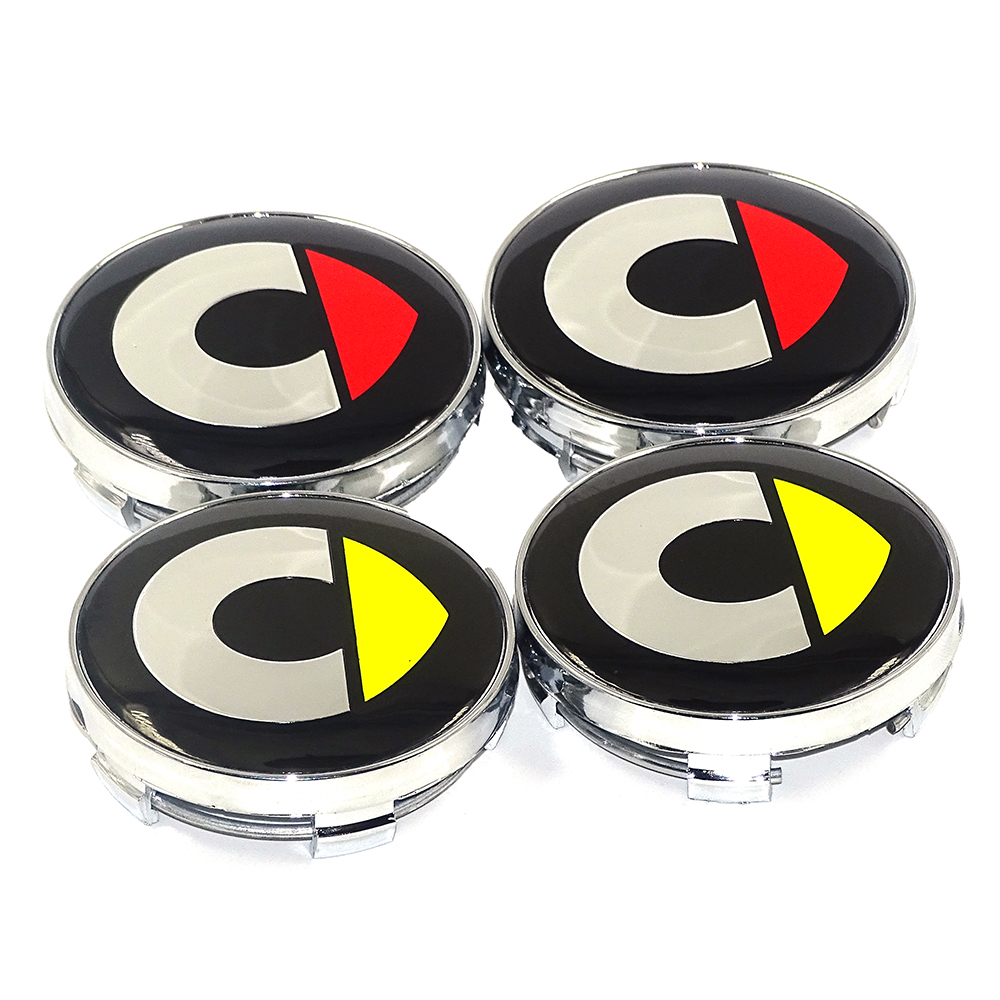 4x 75 mm pour Suzuki SIL Roue Autocollants Center Badge Centre Trim Cap Hub alliage