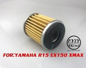 Image 3 - 1 Pack Filtri Olio Elemento del Filtro Del Carburante Benzina Lavabile Gas Riutilizzabile Per Yamaha YZF R15 eccitatore 150 XMAX 300