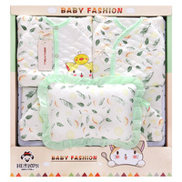 100% Thick Cotton baby clothes toys gift box newborn climb clothes Baby Full Moon Birthday Gift Set