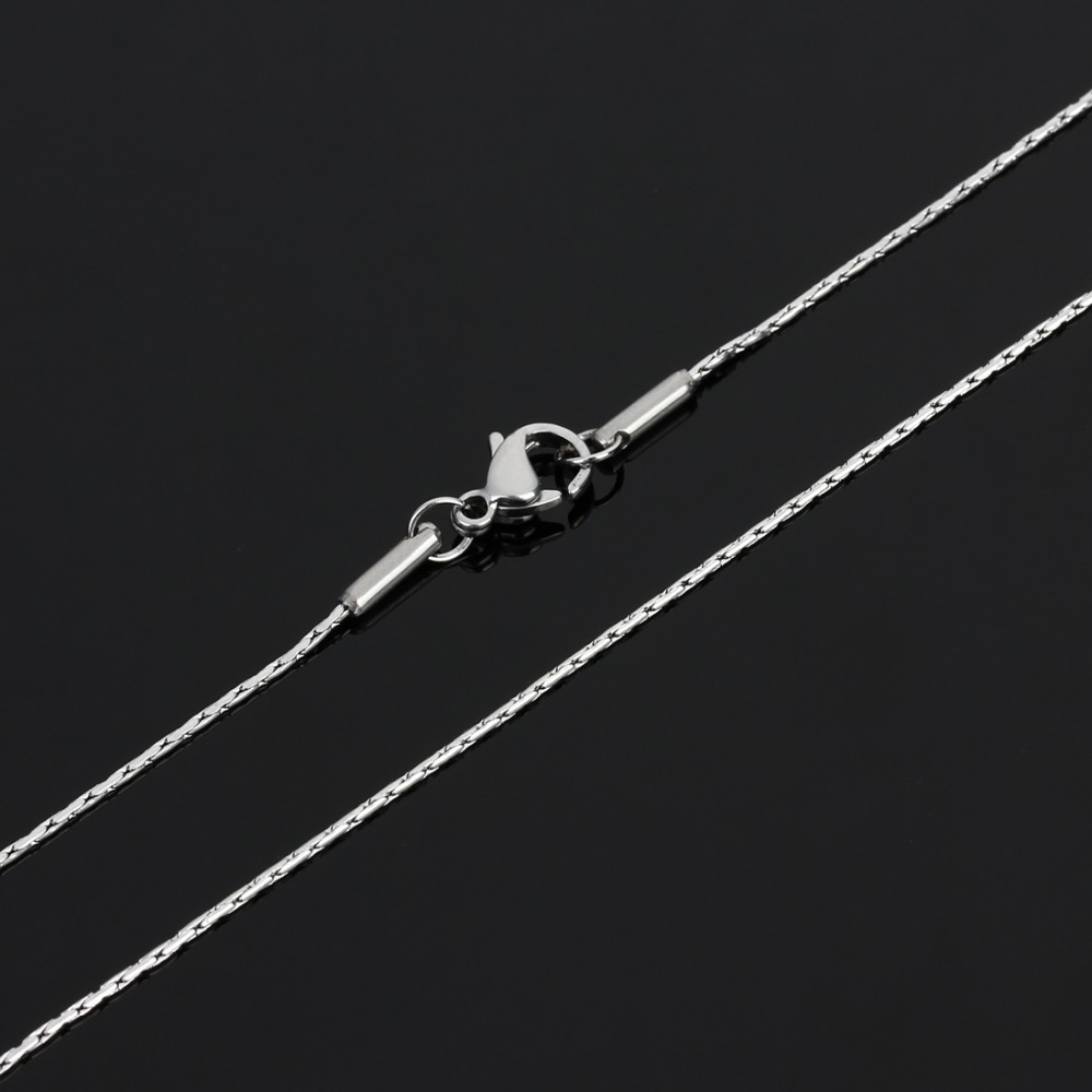 5 шт/Лот серебристая пряжка из нержавеющей стали 09 мм