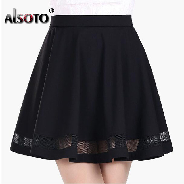 New Elastic Design Midi Skirt