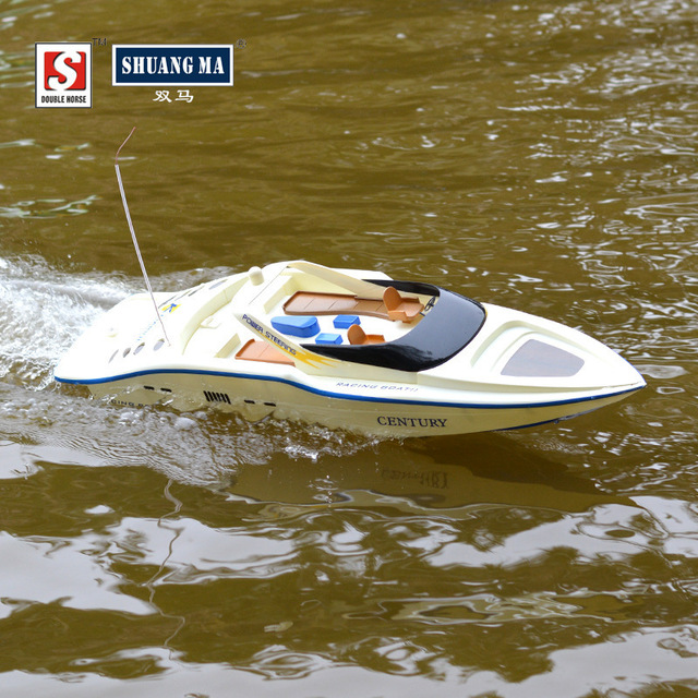 Shuangma 7004 4ch 2.4ghz Remote Control Boat Rc Speedboat Model Army ...