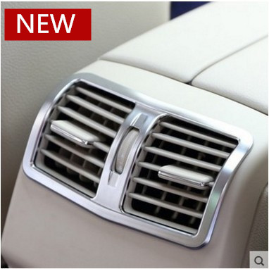 Car Rear Air Condition outlet Vent Cover for 2013 2016 Mercedes Benz E class W212 W213 E200L E260L E300L in Car Stickers from Automobiles Motorcycles