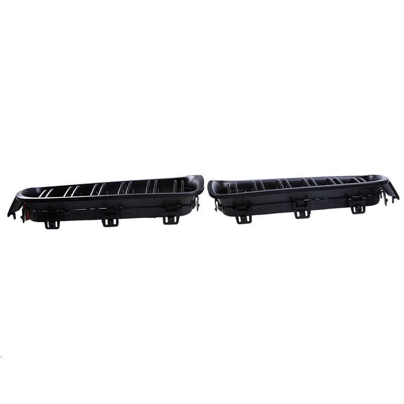 POSSBAY Double Line Car Front Kidney Grille Matte Black Grills for BMW 3-Series F30 328iX/330i/335i/340i/316i Sedan 2012-2017