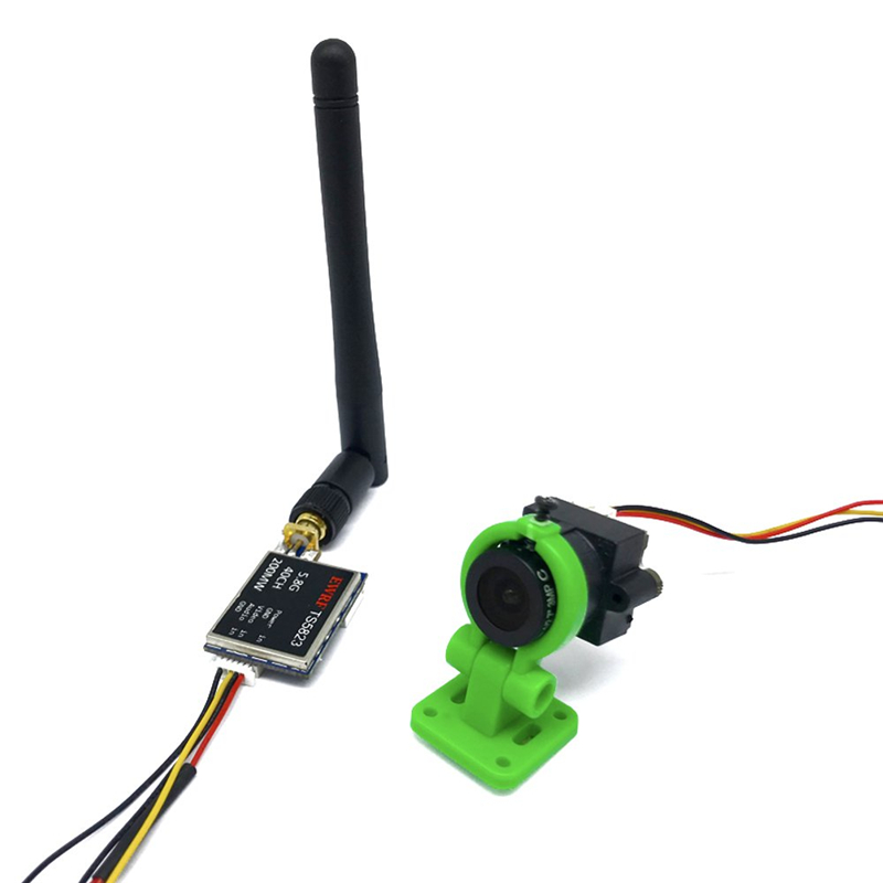 EWRF <font><b>TS5823</b></font> 5.8G 40CH 200mW 600mW <font><b>FPV</b></font> Transmitter VTX With COMS 1000TVL Camera For RC <font><b>FPV</b></font> Racing Drone Models image