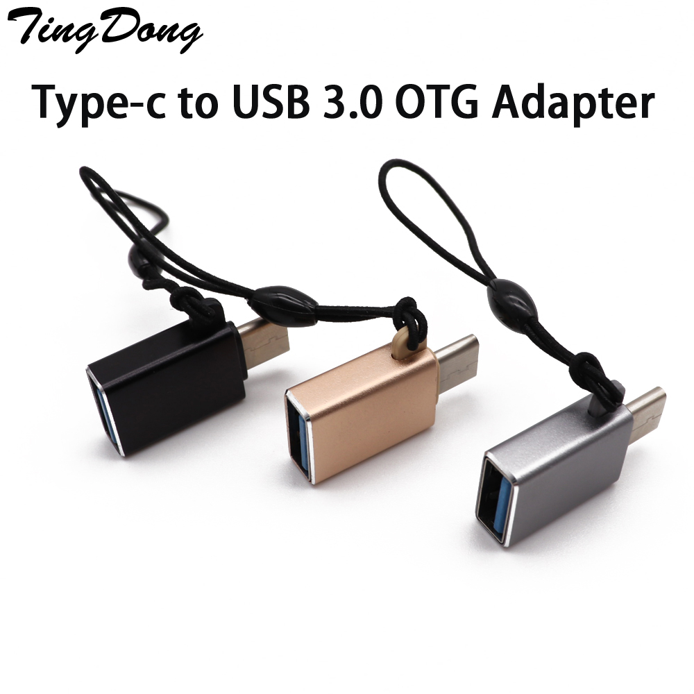 USB C 3.0 OTG Cable Adapter Type C Converter For Xiaomi MI 8 For Huawei P20 For Samsung S9 S8 One Plus 6 5 Type-C To USB 3.0 OTG