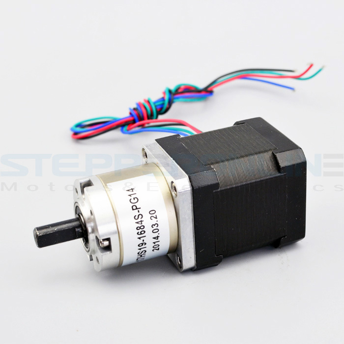 Gear ratio 14:1 Planetary Gearbox stepper motor Nema 17 1.68A Geared Stepper Motor 3d printer stepper motor 17HS19-1684S-PG14 розетка 1 местная с з со шторками слоновая кость
