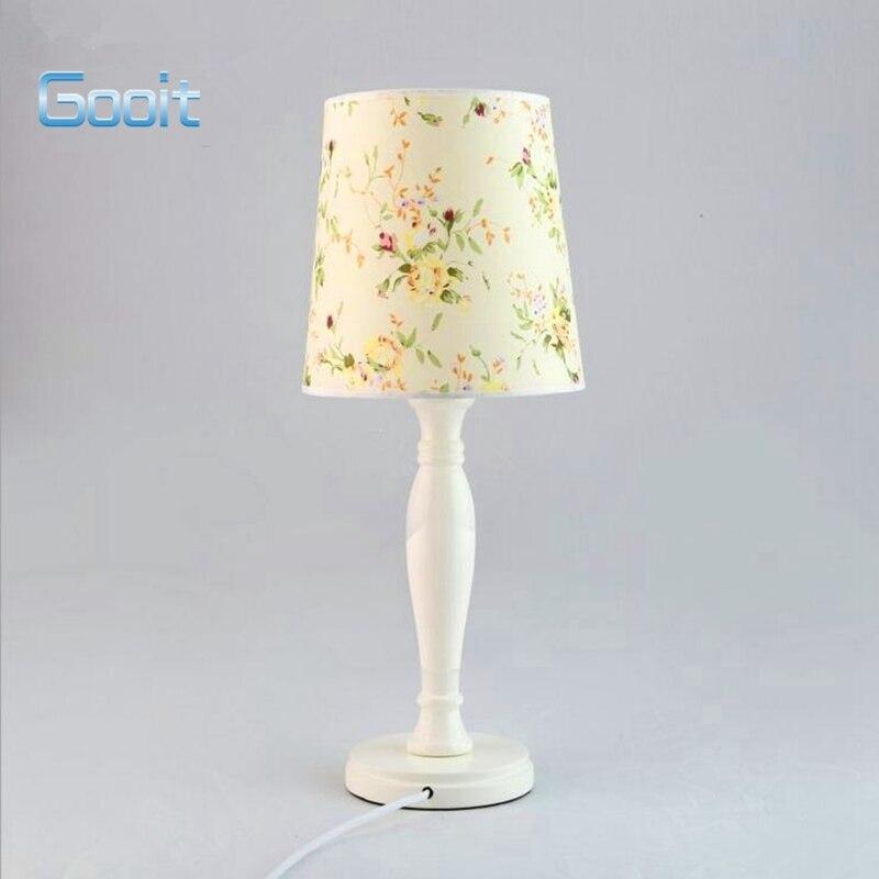 Achetez en gros fleur de lampe de table en ligne des for Lampe de chevet haute