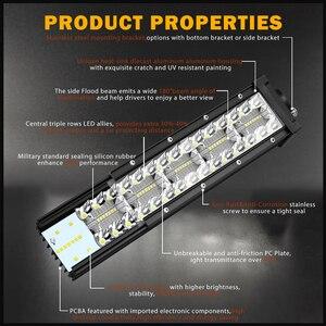 """Image 2 - CO işık 42 """"780 W Led bar ışığı Offroad 3 satır Combo Led İş işık 12V 24V 390W 585W için sürüş lambası Niva kamyon 4x4 tekne ATV"""