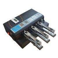 Степлер офисные школьные принадлежности связывающая машина бумажный степлер автоматический Электрический степлер переплетный станок 220 В