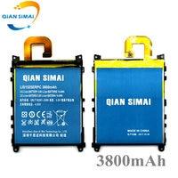 Novo 3800 mah lis1525erpc li-ion bateria do telefone para sony ericsson xperia l39h z1 l39 c6902 c6903 c6916 c6943 telefone