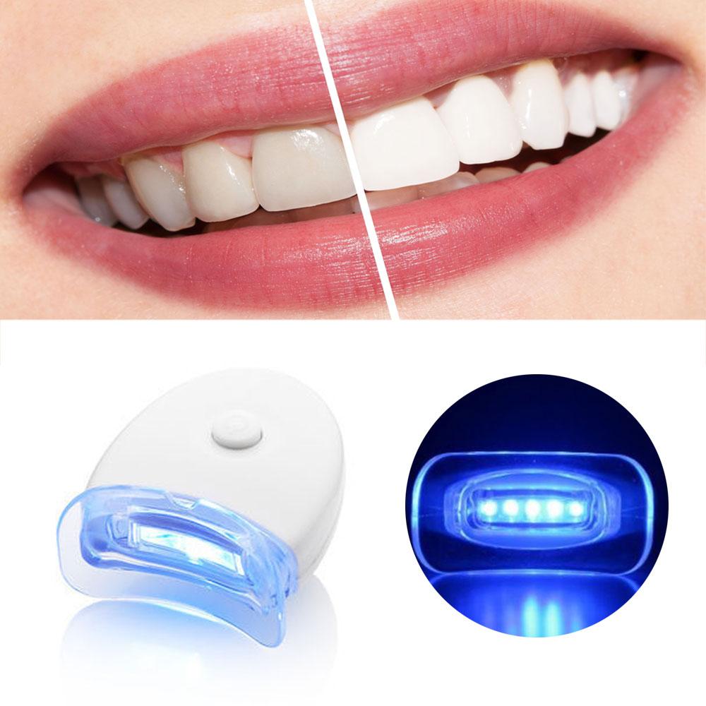 GENKENT 1PCS Dental Teeth Whitening Built in 5 LEDs Lights