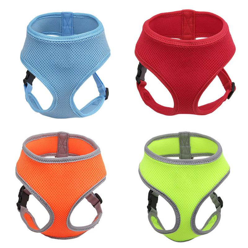 Dog Harness Soft Breathable Air Mesh Chest Strap for Puppy Dog Cat Harness Pets Supplies S M L XL