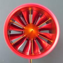 Радиоуправляемый самолет вихревой воздушный спрей 12 лопастей 105 мм 12S 10S 8S 6S EDF самолет JP электронный воздуховод мотор cowling вентилятор металлический держатель