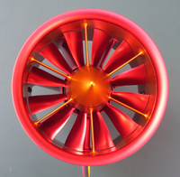 RC Airplane Vortex Air Spray 12 Blade 105mm 12S 10S 8S 6S EDF Aircraft JP Electronic Ducting Motor cowling Fan Metal Holder