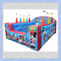 HOT Sale Inflatable Ball Pool with 6ft by 6ft size CE or UL certificated Blower Included Free Shipping