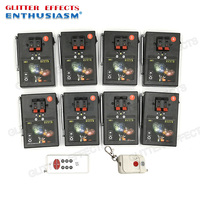 AM01R 8 double remote control 8 channel 16 cue receivers stage effects wedding fire machine