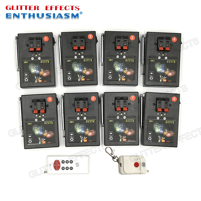 AM01R-8 double remote control 8 channel 16 cue receivers stage effects wedding fire machine fire granny 2018 11 20t20 00