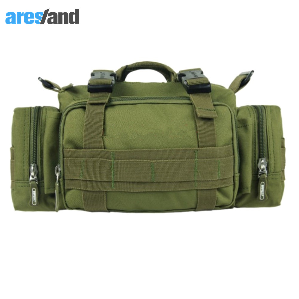 Camouflage 3P Military font b Tactical b font Backpack Duffle Waist Outdoor Sports Bag OX Ford