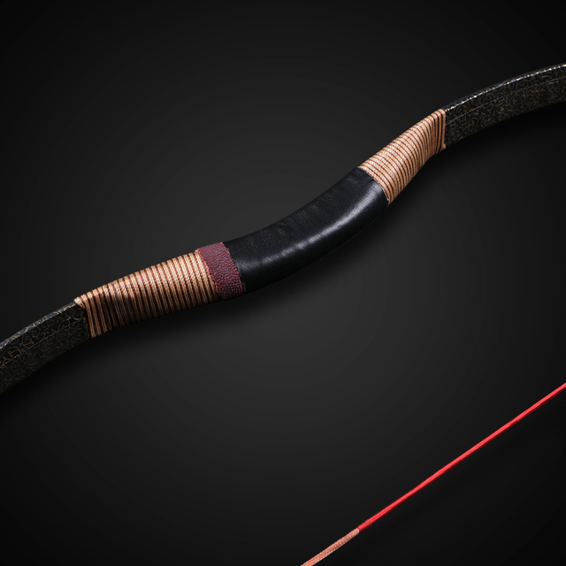 54 inch Traditional recurve horse bow archery hunting bow 30-50lbs