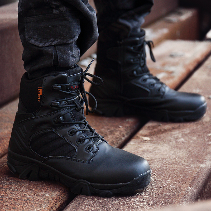 Men Military Boots Special Force Tactical Desert Combat Ankle Boats Army Work Shoes Snow Boots Botas Militares Sapatos Masculino work boots
