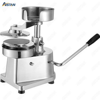 HF150 Stainless steel manual hamburger machine Hamburger Meat Pie Presser for restaurant 2