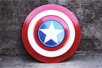 [Funny] 1:1 Full Metal model 62cm The Avengers Civil War Captain America Shield model adult child cosplay toys collection gift
