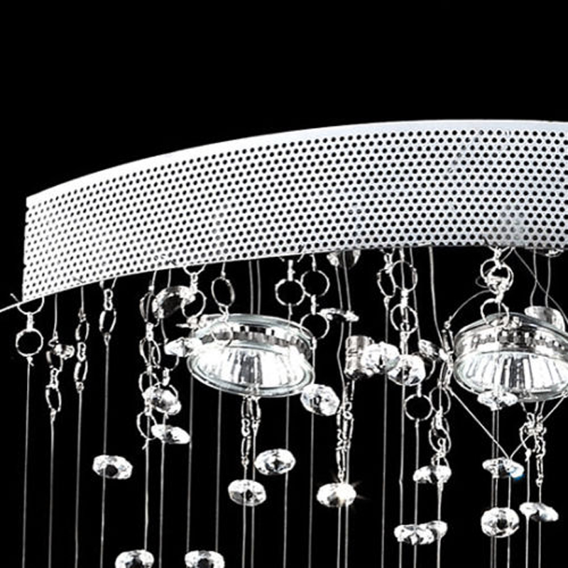 Moderne Hänge Beleuchtung Symmetrie Regen Tropfen Kristall Kronleuchter  Leuchte Für Wohnzimmer Esszimmer Restaurant Schlafzimmer In Moderne Hänge  ...