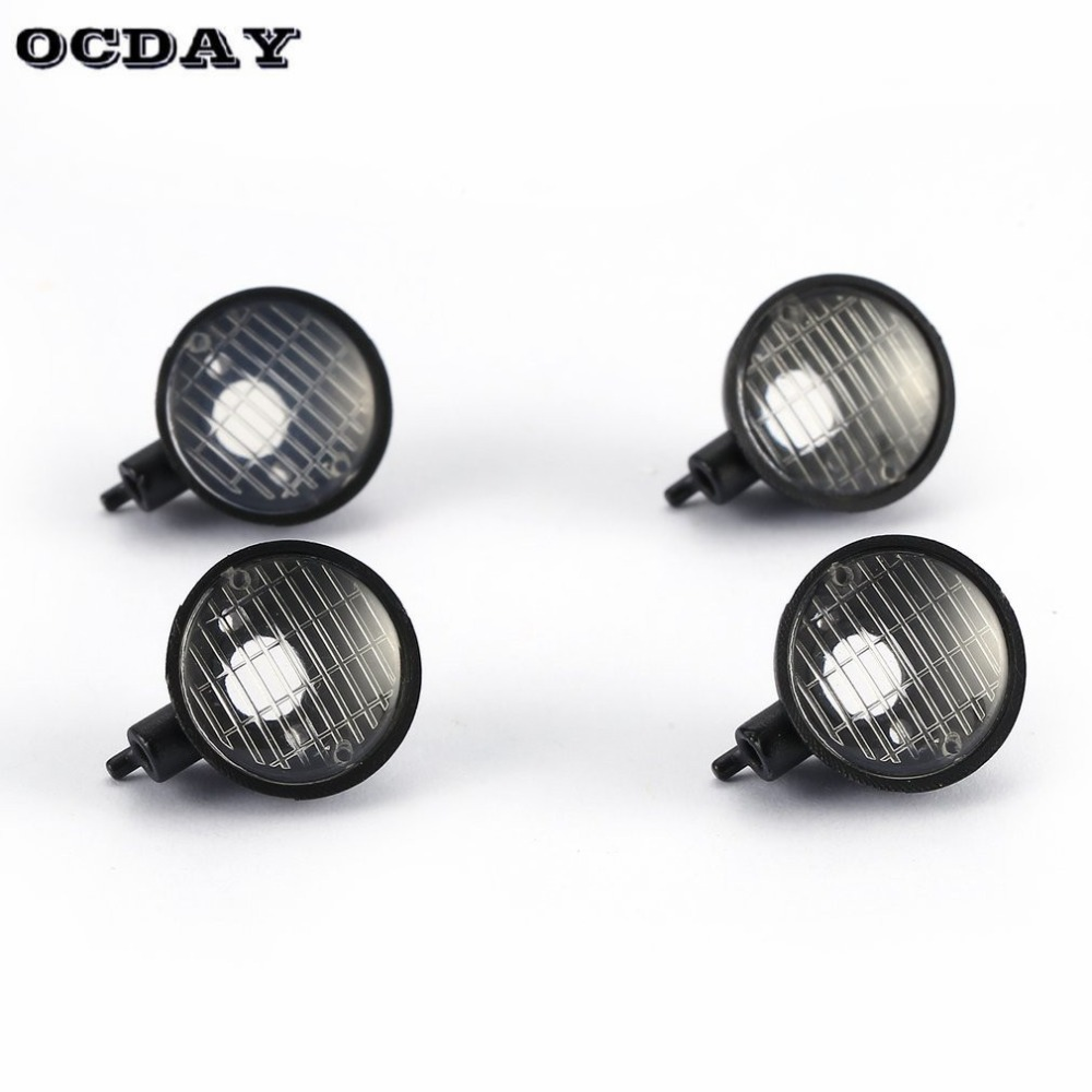 Spirited Mini Lamp Climbing Car Roof Cup Light Round Lamp Cup Lampshade For Trx-4 Scx10 D90 5mm Led Light 1/10 Rc Crawler Model Toys Part Exquisite Traditional Embroidery Art Toys & Hobbies Parts & Accessories