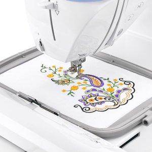 Image 3 - Embroidery machine hoop set sewing hoop  frame  brother  PE 700, PE 700II, PE 750D, PE 7701200 1250D, PC 6500, PC 8200, PC 8500