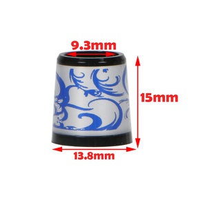 Image 5 - GOLF ferrules for irons and wedges spec : inner * higher* outer size 9.3 *15*13.8 mm free shipping