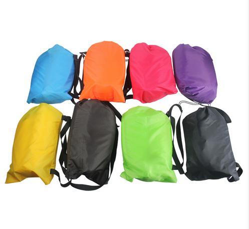 Over 2M Newest Camping Sleeping font b Bags b font Air Sofa Laybag Sleep Bed Banana