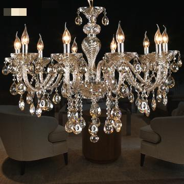 Crystal Chandelier Light Pendant Lamp Ceiling fashion 10 head crystal chandelier