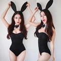 Hot Sexy 3PCS/Set Catwoman Bunny Uniforms Temptation Suit Bunny Sexy Lingerie Costumes Sex Toy Underwear COSPLAY Bunny Girl