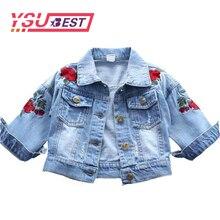60f720902a78 Kinder Mädchen Jeans Mantel Werbeaktion-Shop für Werbeaktion Kinder ...