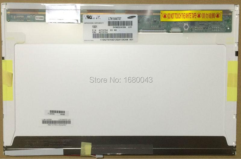 "LG 15.4/"" CCFL LCD Screen 1280 x 800 WXGA  30 Pin LVDS LP154W01 Grade B D1 TL"