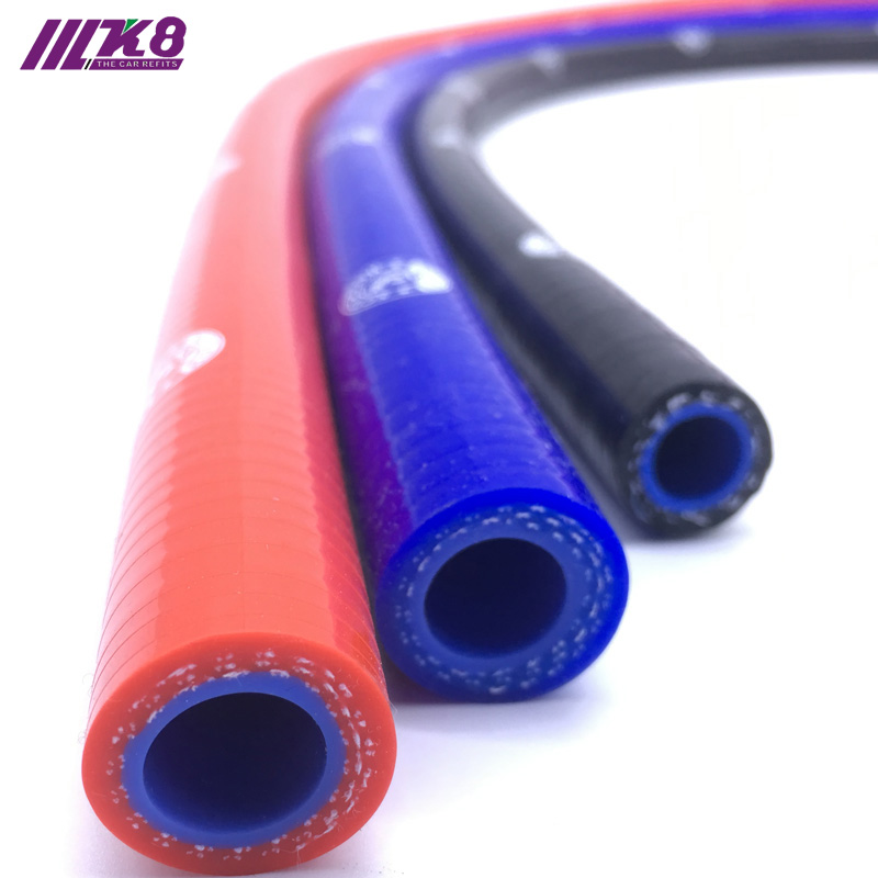 AutoSiliconeHoses ID Black 1 Metre Length Rubber Radiator Hose 32mm
