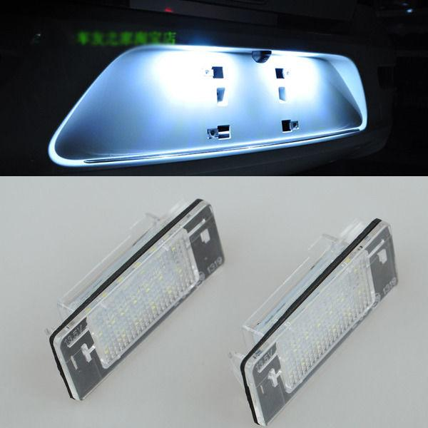 2x Error Free LED License Plate Light For OPEL Vauxhall Vectra C Estate 02-2008 1pair canbus free led car license plate light number plate lamp for opel vectra c estate 2002 2003 2004 2005 2006 2007 2008