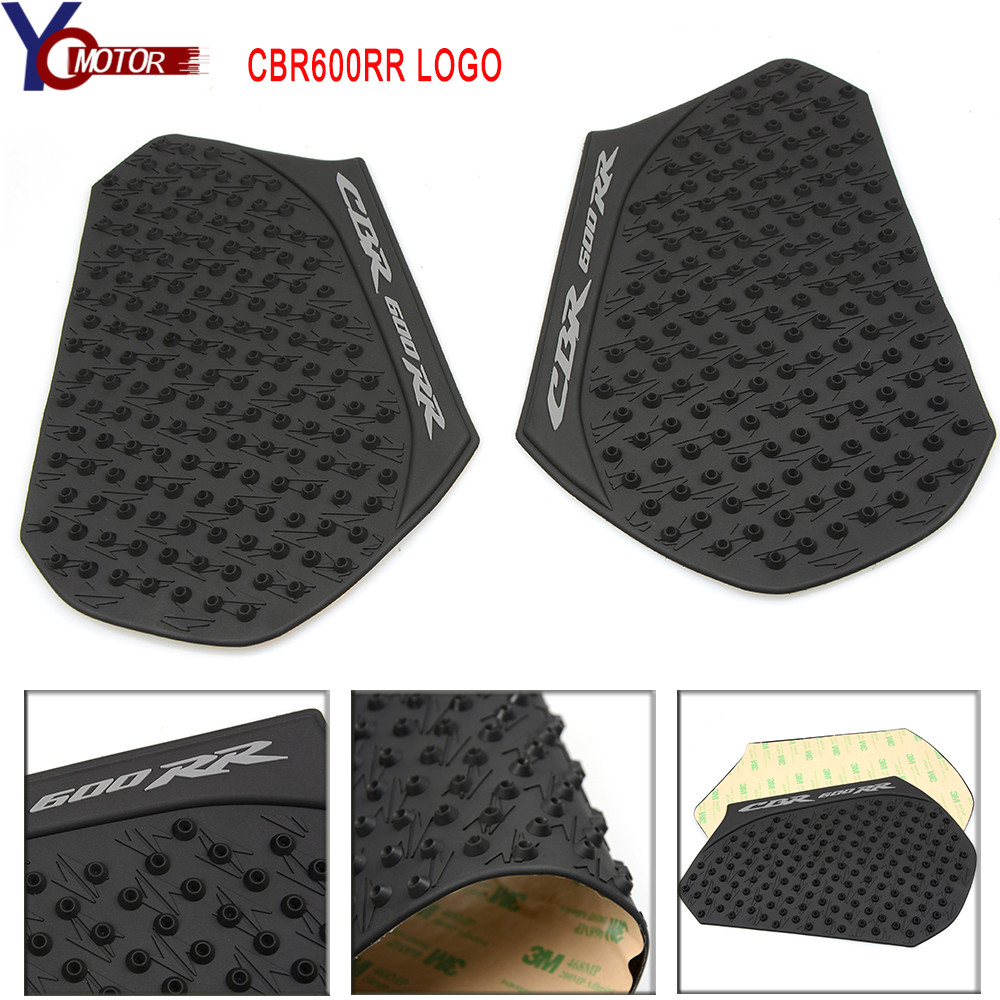 Gas Fuel Tank Pad Traction Side Knee Grip For Honda CBR 600 RR 2013-2016