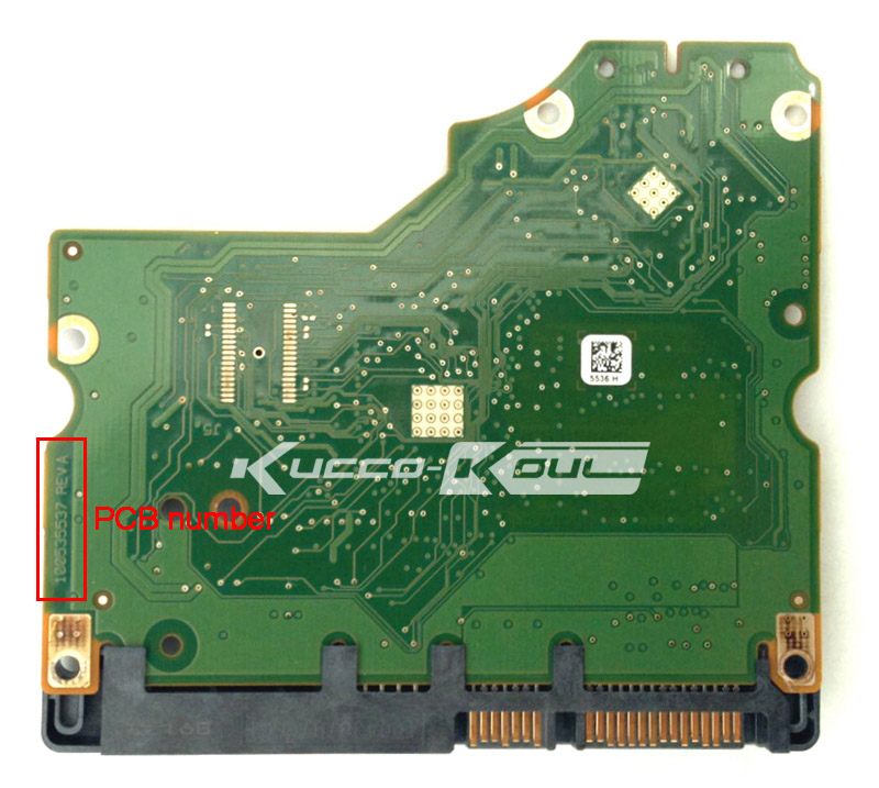 hard drive parts PCB logic board printed circuit board 100535537 for Seagate 3.5 SATA hdd data recovery hard drive repair