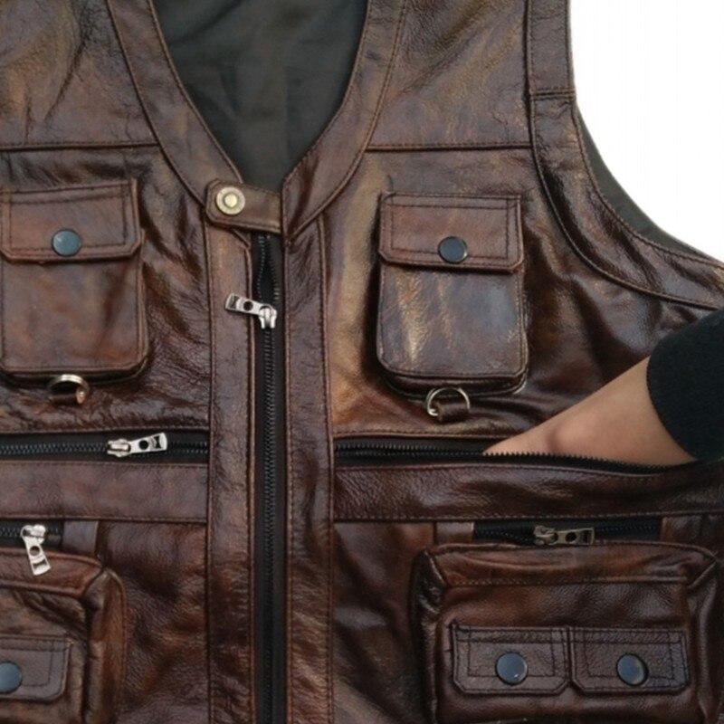 masculino sem mangas jaqueta grossa alta qualidade