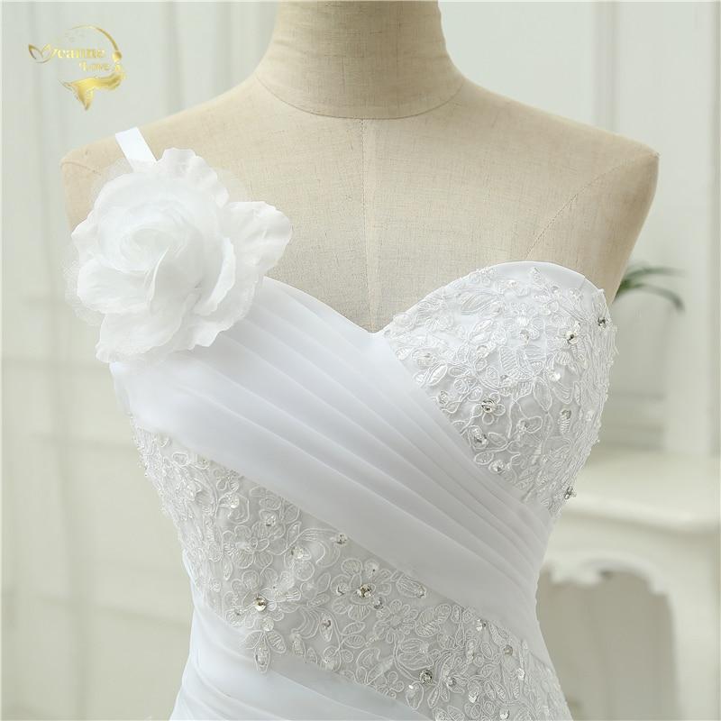 Vestido De Noiva Μια γραμμή ένα βραχιόλι - Γαμήλια φορέματα - Φωτογραφία 5