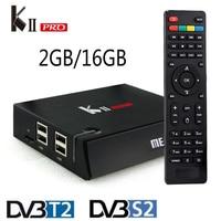 DVB T2 S2 KII Pro Android TV Box Amlogic S905 Quad Core Bluetooth 4 0 2GB