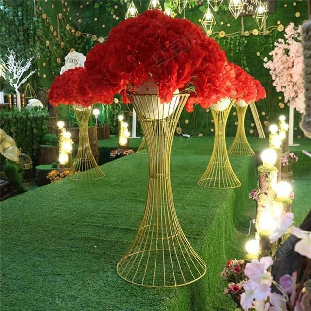 3059cm Tall Floor Stand Wedding Decoration Wedding Table Vase