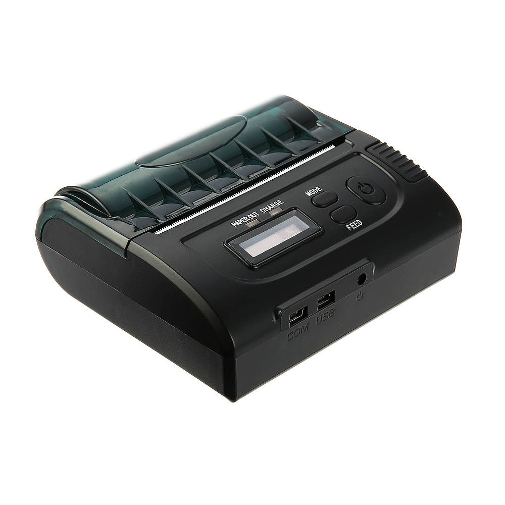 ZJ - 8002 80mm Bluetooth 2.0 Android POS Receipt Thermal Printer Bill Machine for Supermarket Restaurant zj 8002 80mm bluetooth2 0 android pos receipt thermal printer bill machine for supermarket restaurant black color eu plug