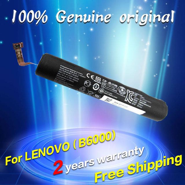 100% nueva batería original genuina para lenovo yoga tablet 8 pad b6000 series l13d2e31 1icr19/65-2 3.75 v 6000 mah envío gratis